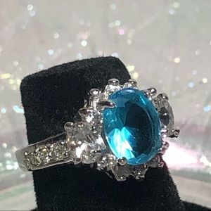 Aquamarine Color Stone Size 5